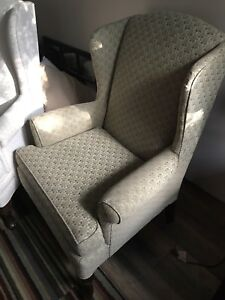 Stony Plain - Two wing back chairs - Perfect Shape $200.00 each