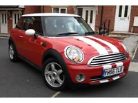 2007 Mini Cooper 1.6 Face Lift Model Full History 2 Keys 6 Speed Leather Seat, Mot 9 Month HPI Clear