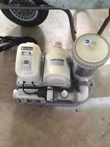 "Water filtration pump for a 18' x 48"" above ground pool"