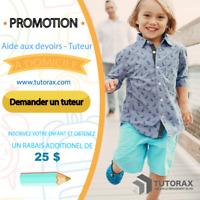 TUTORAT - EXAMEN D'ADMISSION AU SECONDAIRE