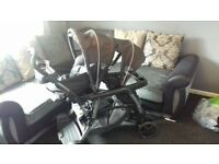Graco ready to grow double pushchair