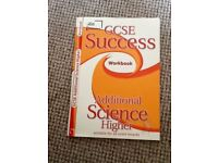 LETTS GCSE Success Additional Science Higher Workbook