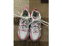 Trainers pink Everlast size 5.5 uk
