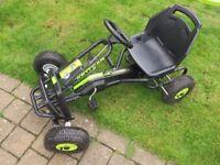 Kettler Barcelona Go Kart, suitable for kids age 5-10, only used for 6 months. Kept in garage.