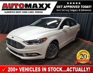 2017 Ford Fusion SE AWD! w/Leather/Nav/Roof!