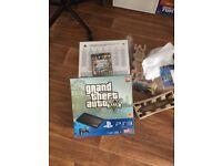Ps3 500gb full boxed inc GTA game