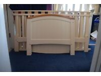 Baby's R Us Cot Bed and Mattress