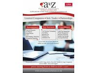 Need an Accountant for your Business - Call A to Z Finance Solutions on 07912 642236