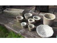 light weight concreat planters