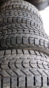 WINTER TIRES   235/70/r16    ($275= SET OF 4TIRES