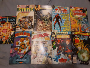 Moving - Variety of dc comics