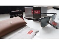 FREE DELIVERY TODAY! CLUBMASTERS RAYBANS SUNGLASSES MENS WOMENS tent
