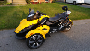 2008 can-am spyder gs manuel 41000km