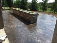 Quality, affordable concrete work. FREE onsite evaluations!