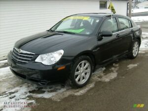2008 Chrysler Sebring black on black Sedan