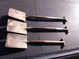 Vintage / old Garden Spades from around 1940's -- Collector ? - TOOLS - MAKE A -O-F-F-E-R-