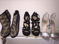 !!!!HOUSE CLEARANCE shoes size 4-5, clothes 8-10
