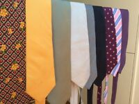 Collection of 21 Ties - incl Hermes; Kilgour; Favourbrook Jermyn St;