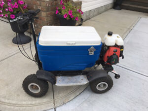 gas poweredcooler scooter