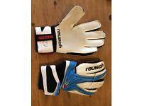 Goalkeeping gloves - reusch keon pro - used once