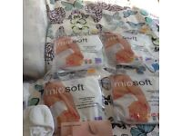 Bambino cotton nappies full set in used