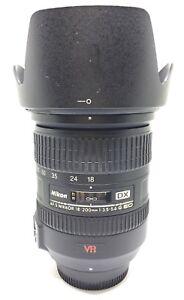 Nikon Af-s 18-200 VR DX  f/3.5-5.6 IF-ED