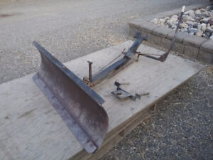"""48"""" Snowplow for Ford LGT tractor"""