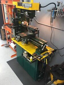 Craftex Lathe/Mill combo and tooling