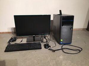 Desktop ASUS comme neuf + toute équipée
