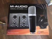 M-audio MIDI controllers, Audio Interface Vocal studio pro (M-TRACK Recording device sound recording