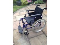 Invacare action 2000 wheelchair