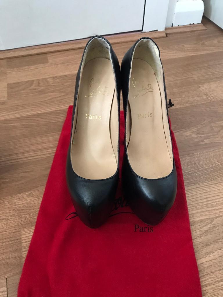 christian louboutin heels size 5