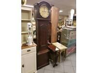 Antique grandfather clock. Hale Strabane