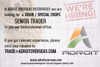 Senior / Junior trader (Grain / Special Crops buyer / trader)