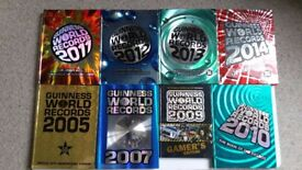 Assorted Guinness World Record Books