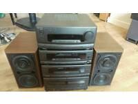 Technics stereo tuner amplifier SA-CH550