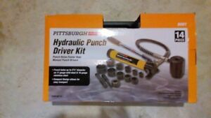 Hydraulic Punch Driver Kit - New