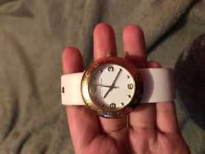 Authentic Marc Jacobs Watch - White and Gold