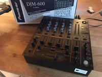 Pioneer DJM 600 Mixer - Boxed - V Good Condition Fully boxed