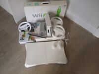 Wii Games Consol Bundle with Wii Fit