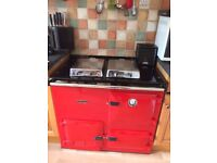 Rayburn Nouvelle gas cooker/boiler. Very good condition, recently serviced