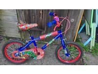 Childrens/kids MARVEL Bike - 16 inch