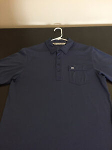 TRAVIS MATHEW GOLF SHIRT size medium