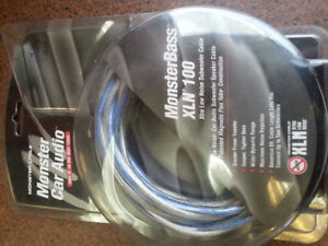 MonsterBass XLN 100 Subwoofer Cable