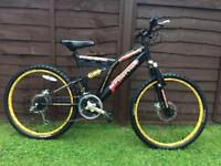 Boys sabre mountain bike