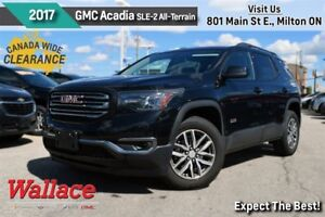 2017 GMC Acadia SLE-2/LOADED!/AWD/ALL-TERRAIN PKG/DUAL MOONROOF
