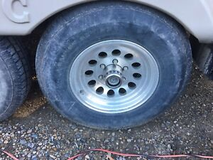 "Aluminum Wheel for trailer "" Wanted"""