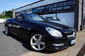 2012 MERCEDES SLK 250 1.8 BLUEEFFICIENCY AUTOMATIC PETROL CABRIOLET CONVERTIBLE
