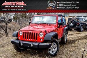 2017 Jeep Wrangler New Car Sport S|4x4|Manual|PwrCnvncePKG|PwrLo