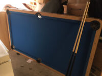 Snooker Table - great condition with 2 cues and balls